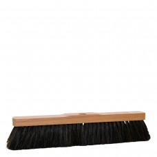 Saalbesen aus Buchenholz mit Stielloch, 40cm