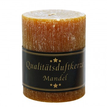 Parfümierte Zylinderkerze, Mandel, 90/70mm