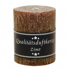 Parfümierte Zylinderkerze, Zimt, 90/70mm