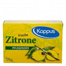 Zitronen Seife Kappus 125g