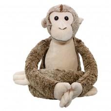 Plüschtier Lorenzo Langbein-Affe 41 cm, kann mit einem Namen bestickt werden