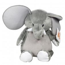 Plüschtier Elefant 41 cm, kann mit einem Namen bestickt werden