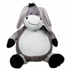 Plüschtier Esel ist 41 cm, kann mit einem Namen bestickt werden