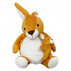 Plüschtier Kangaroo 41 cm, kann mit einem Namen bestickt werden