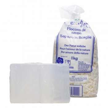 Bastel Starter Kit Seifenflocken & Glycerin Seife zum Basteln