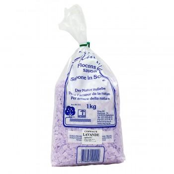 Ring Seifenflocken parfümiert Lavendel, 1 kg zum Waschen und Basteln