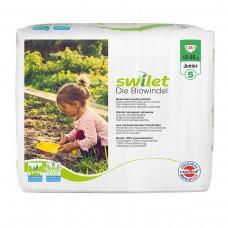 Swilet – Die Biowindel Gr. 5 Junior (12 – 25kg), Beutel (24 STK) ( 1 Karton 6 x 24 STK)