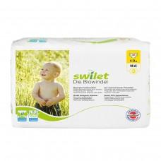 Swilet – Die Biowindel Gr. 3 Midi (4 – 9kg), Beutel (28 STK), ( Karton 6 x 28 STK)