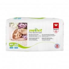Swilet – Die Biowindel Gr. 1 Newborn (2 – 4kg), Beutel (30 STK),  (1 Karton 4 x 30 STK)