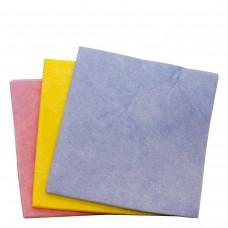 3 Reinigungstücher farbig assortiert 38 × 40 cm