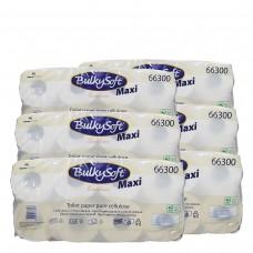 48 Rollen/Pack, WC Papier 3-lagig BulkySoft, 250 Blatt,